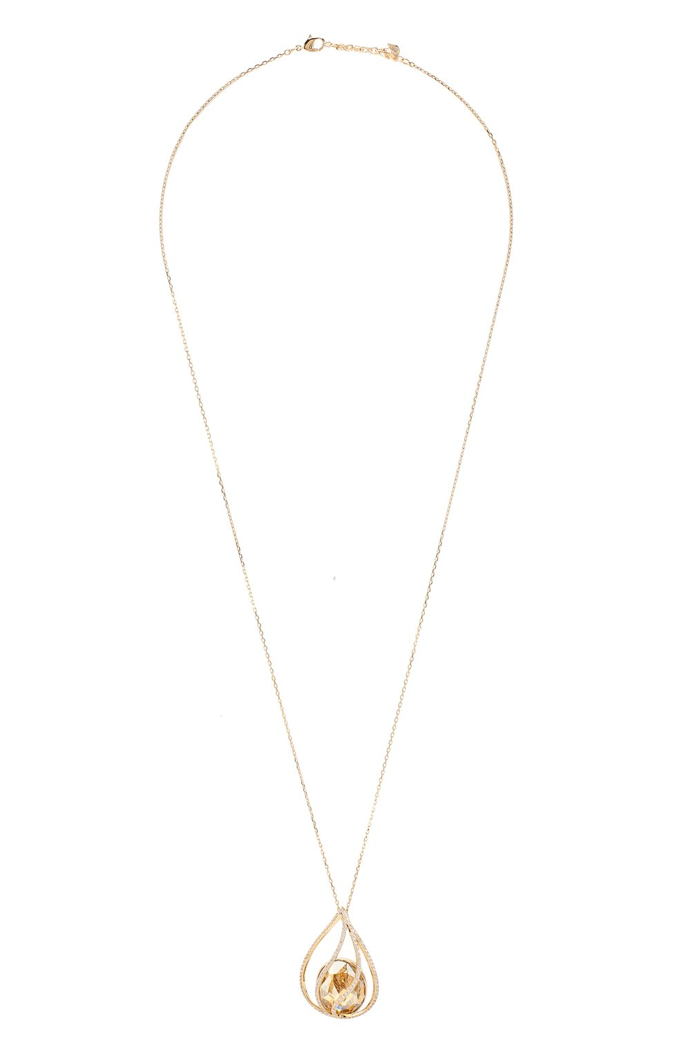Женская кулон energic SWAROVSKI золотого цвета, арт. 5502947 | Фото 1