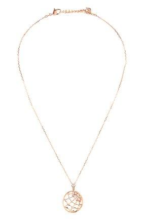 Женская кулон precisely SWAROVSKI золотого цвета, арт. 5488405   Фото 1