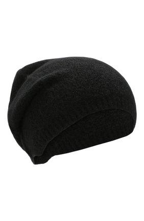 Мужская шерстяная шапка ISABEL BENENATO черного цвета, арт. UK76F19 | Фото 1