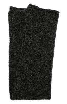Мужские шерстяные митенки ISABEL BENENATO серого цвета, арт. UK84F19 | Фото 1