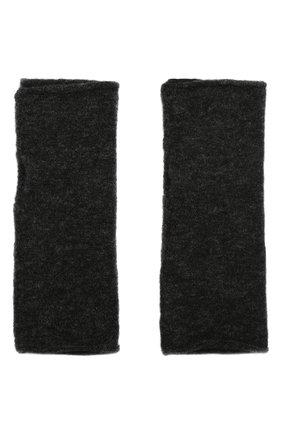 Мужские шерстяные митенки ISABEL BENENATO серого цвета, арт. UK84F19 | Фото 2