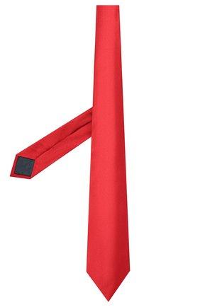 Мужской комплект из галстука и платка LANVIN красного цвета, арт. 1282/TIE SET   Фото 2