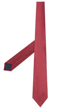 Мужской комплект из галстука и платка LANVIN бордового цвета, арт. 4212/TIE SET   Фото 2