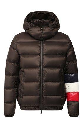Мужская пуховая куртка willm MONCLER хаки цвета, арт. E2-091-41355-85-C0104 | Фото 1