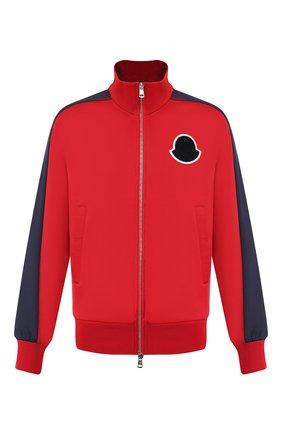 Мужская кардиган MONCLER красного цвета, арт. E2-091-84267-00-C8005   Фото 1