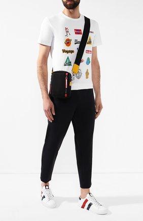 Мужская текстильная сумка MONCLER черного цвета, арт. E2-09A-00640-00-02S1J | Фото 2