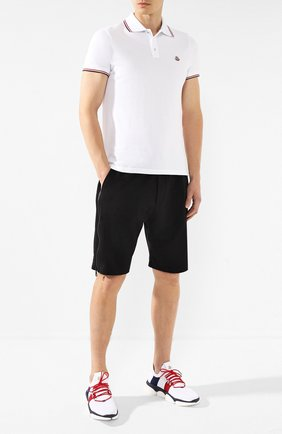 Мужские текстильные кроссовки bubble MONCLER белого цвета, арт. E2-09A-10362-00-01A6H | Фото 2