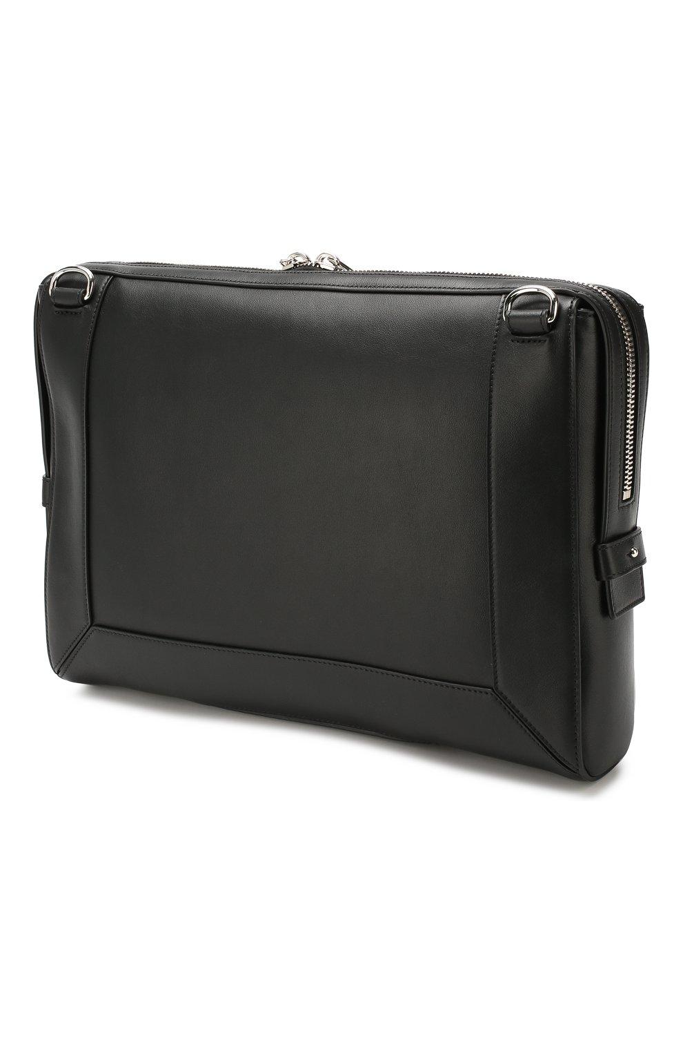 Кожаная сумка Enveloppe   Фото №3