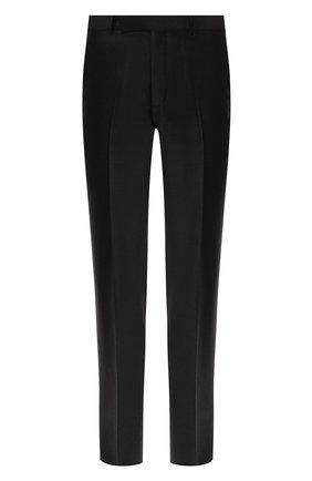 Мужской шерстяные брюки ERMENEGILDO ZEGNA серого цвета, арт. 628F02/75SB12 | Фото 1