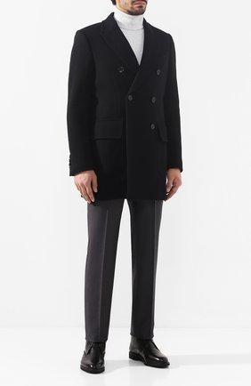 Мужской шерстяные брюки ERMENEGILDO ZEGNA серого цвета, арт. 628F02/75SB12 | Фото 2