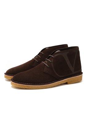 Замшевые ботинки Valentino Garavani | Фото №1