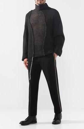 Мужские кожаные ботинки MOMA черного цвета, арт. 2CW022-CUM | Фото 2