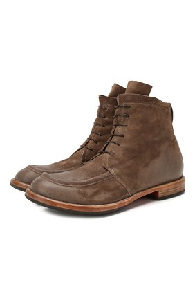 Мужские замшевые ботинки MOMA серого цвета, арт. 2CW002-BEM | Фото 1
