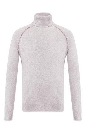 Мужской кашемировый свитер ALANUI серого цвета, арт. LMHF001F19001021 | Фото 1