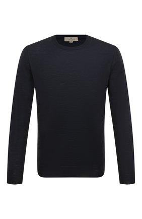 Мужской шерстяной джемпер CANALI темно-синего цвета, арт. C0012/MK00077   Фото 1