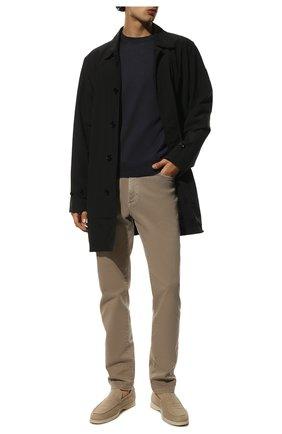 Мужской шерстяной джемпер CANALI темно-синего цвета, арт. C0012/MK00077   Фото 2