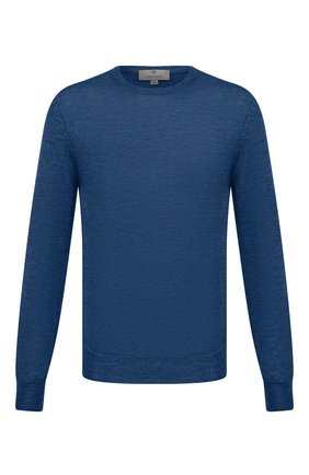 Мужской шерстяной джемпер CANALI синего цвета, арт. C0012/MK00077 | Фото 1