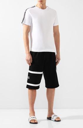 Шлепанцы Givenchy черно-белые | Фото №2