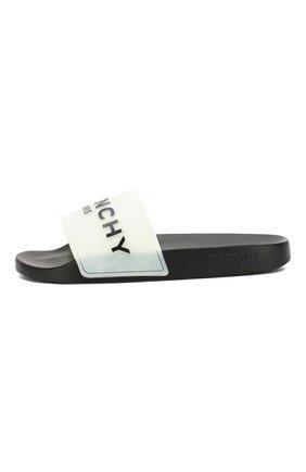 Шлепанцы Givenchy черно-белые | Фото №3