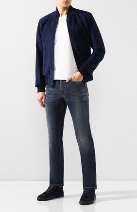 Мужские джинсы BRIONI синего цвета, арт. SPNJ00/08D13/STELVI0 | Фото 2