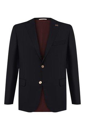 Мужской шерстяной пиджак PAL ZILERI темно-синего цвета, арт. P32X022-2--B1900 | Фото 1