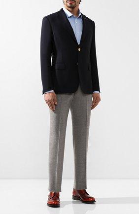 Мужской шерстяной пиджак PAL ZILERI темно-синего цвета, арт. P32X022-2--B1900 | Фото 2
