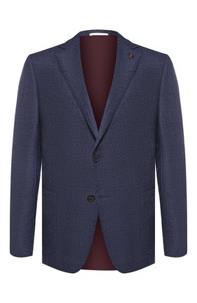 Мужской шерстяной пиджак PAL ZILERI синего цвета, арт. P32X023-2--B1917 | Фото 1