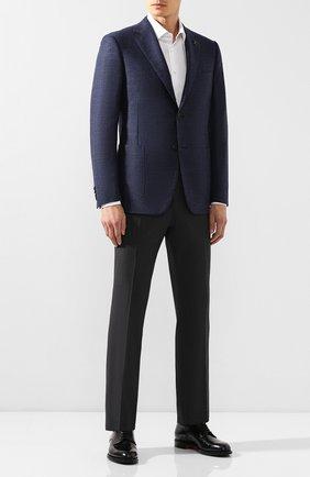 Мужской шерстяной пиджак PAL ZILERI синего цвета, арт. P32X023-2--B1917 | Фото 2