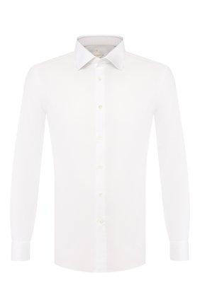 Мужская хлопковая сорочка PAL ZILERI белого цвета, арт. P370G45----B0210 | Фото 1