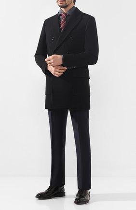 Мужская хлопковая сорочка ERMENEGILDO ZEGNA серого цвета, арт. UTX35/SRF5 | Фото 2
