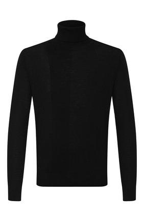 Мужской шерстяная водолазка EMPORIO ARMANI черного цвета, арт. 6G1MX9/1MNVZ | Фото 1