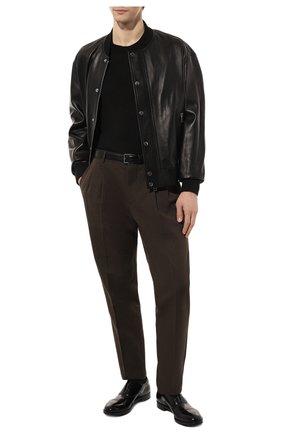 Мужские кожаные оксфорды PREMIATA черного цвета, арт. PREMIATA 446/REAL | Фото 2
