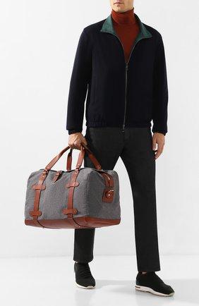 Дорожная сумка из смеси шерсти и кашемира | Фото №2