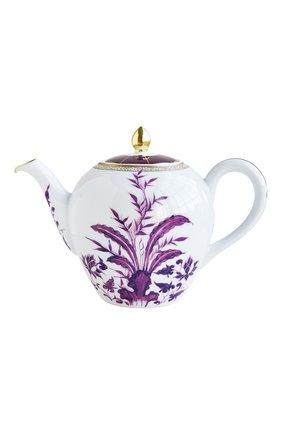 Мужская чайник prunus BERNARDAUD фиолетового цвета, арт. 1831/3088 | Фото 1
