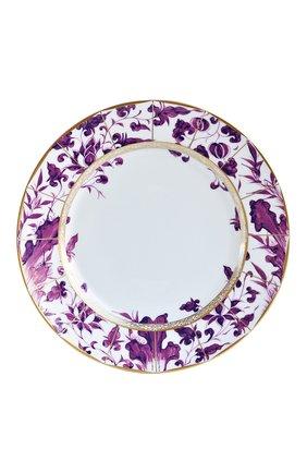 Мужского обеденная тарелка prunus BERNARDAUD фиолетового цвета, арт. 1831/21469 | Фото 1