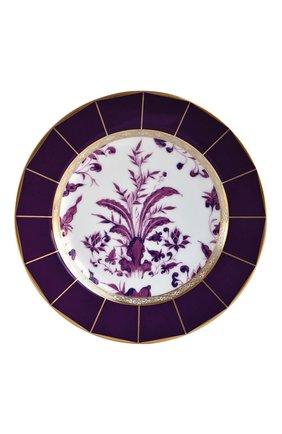 Мужского тарелка для хлеба и масла prunus  BERNARDAUD фиолетового цвета, арт. 1831/21460 | Фото 1