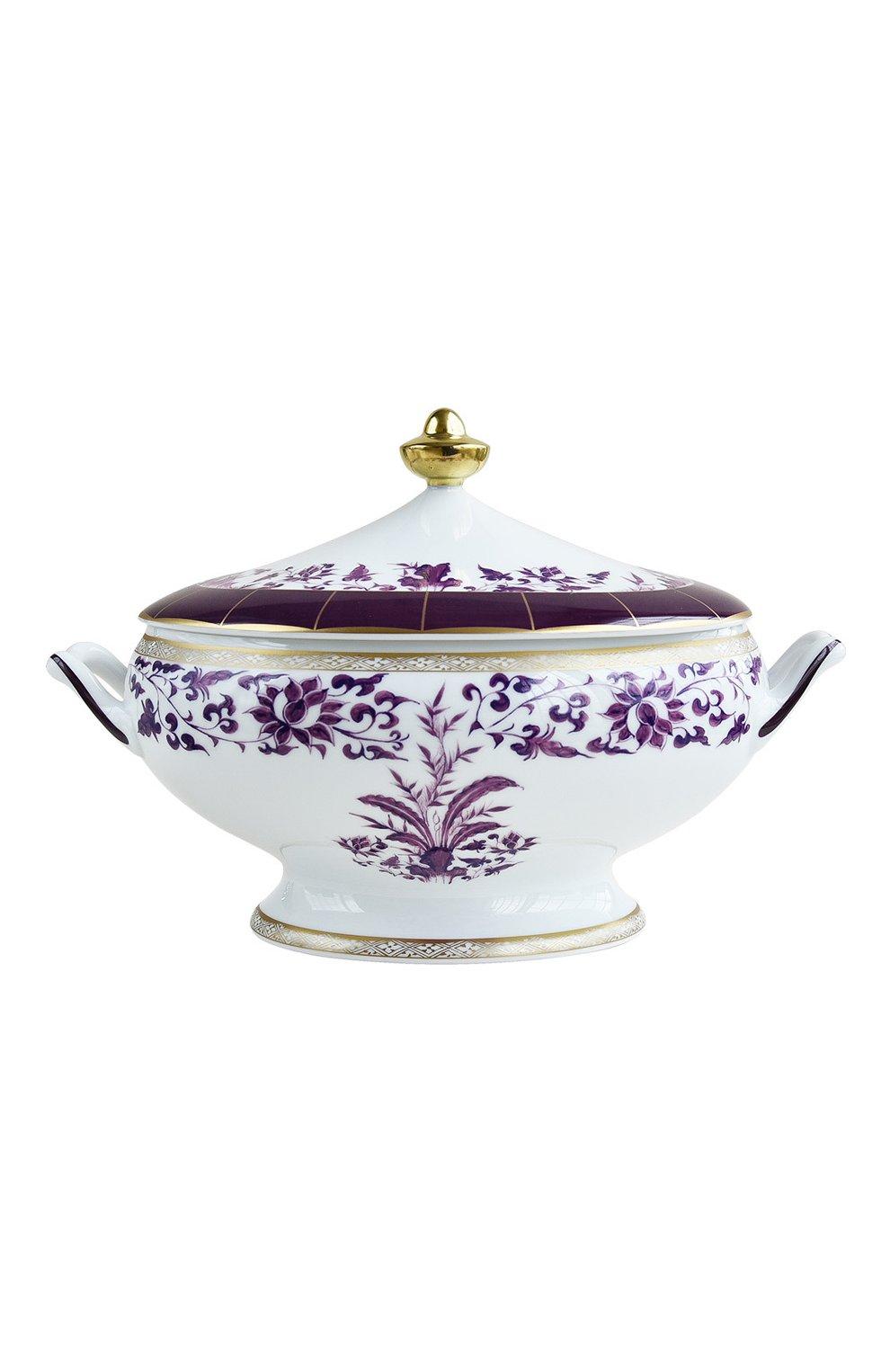 Мужского супница prunus BERNARDAUD фиолетового цвета, арт. 1831/147 | Фото 1