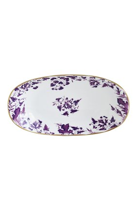 Мужского блюдо для закусок prunus BERNARDAUD фиолетового цвета, арт. 1831/125 | Фото 1
