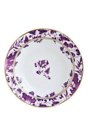 Мужского блюдо глубокое круглое 29 см BERNARDAUD фиолетового цвета, арт. 1831/21467 | Фото 1
