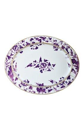 Мужского блюдо  prunus BERNARDAUD фиолетового цвета, арт. 1831/109 | Фото 1