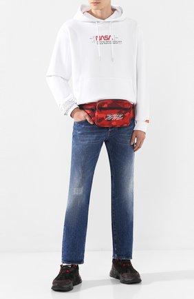 Текстильная поясная сумка | Фото №2