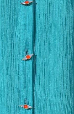 Туника из смеси хлопка и шелка | Фото №5