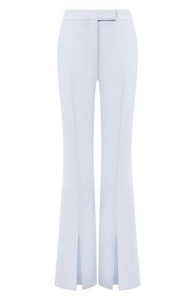 Женские брюки из смеси шерсти и шелка GABRIELA HEARST голубого цвета, арт. 419206 S010 | Фото 1