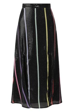 Женская юбка с пайетками OLIVIA RUBIN черного цвета, арт. 0R0125/ASTRID SKIRT | Фото 1