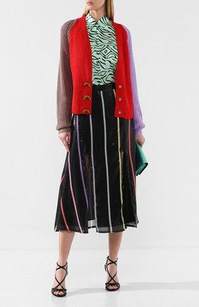 Женская юбка с пайетками OLIVIA RUBIN черного цвета, арт. 0R0125/ASTRID SKIRT | Фото 2