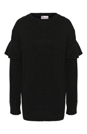 Женская свитер REDVALENTINO черного цвета, арт. SR0KCB98/4LV | Фото 1