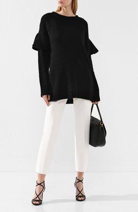 Женская свитер REDVALENTINO черного цвета, арт. SR0KCB98/4LV | Фото 2