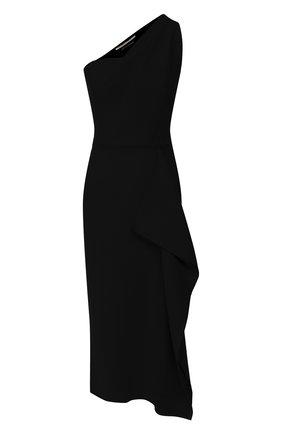 Женское шерстяное платье ROLAND MOURET черного цвета, арт. PW19/S0737/F4044   Фото 1