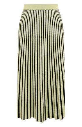 Женская юбка-миди PROENZA SCHOULER желтого цвета, арт. R1937264-KY155 | Фото 1