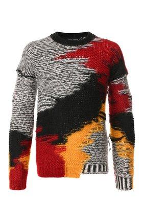 Мужской свитер ISABEL BENENATO разноцветного цвета, арт. UK91F19 | Фото 1